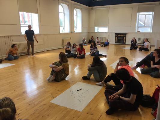 UCC Youth Theatre Online Theatre Workshop for Cruinniú na nÓg