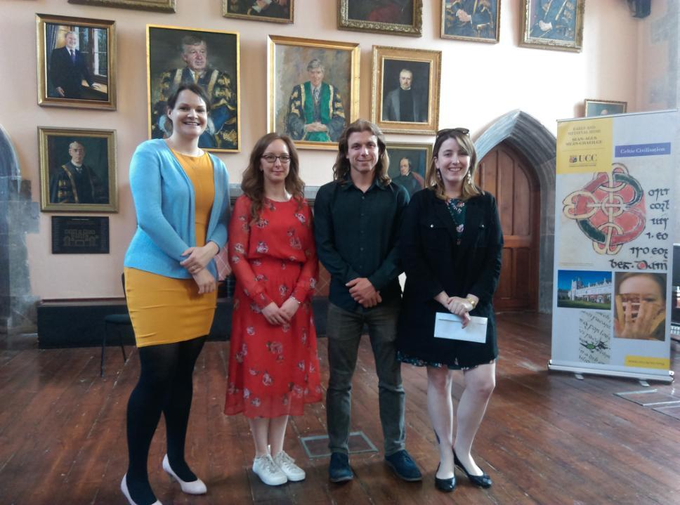 33rd Irish Conference of Medievalists - Prize Winners
