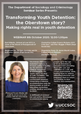 Transforming Youth Detention: the Oberstown story? Making rights real in youth detention