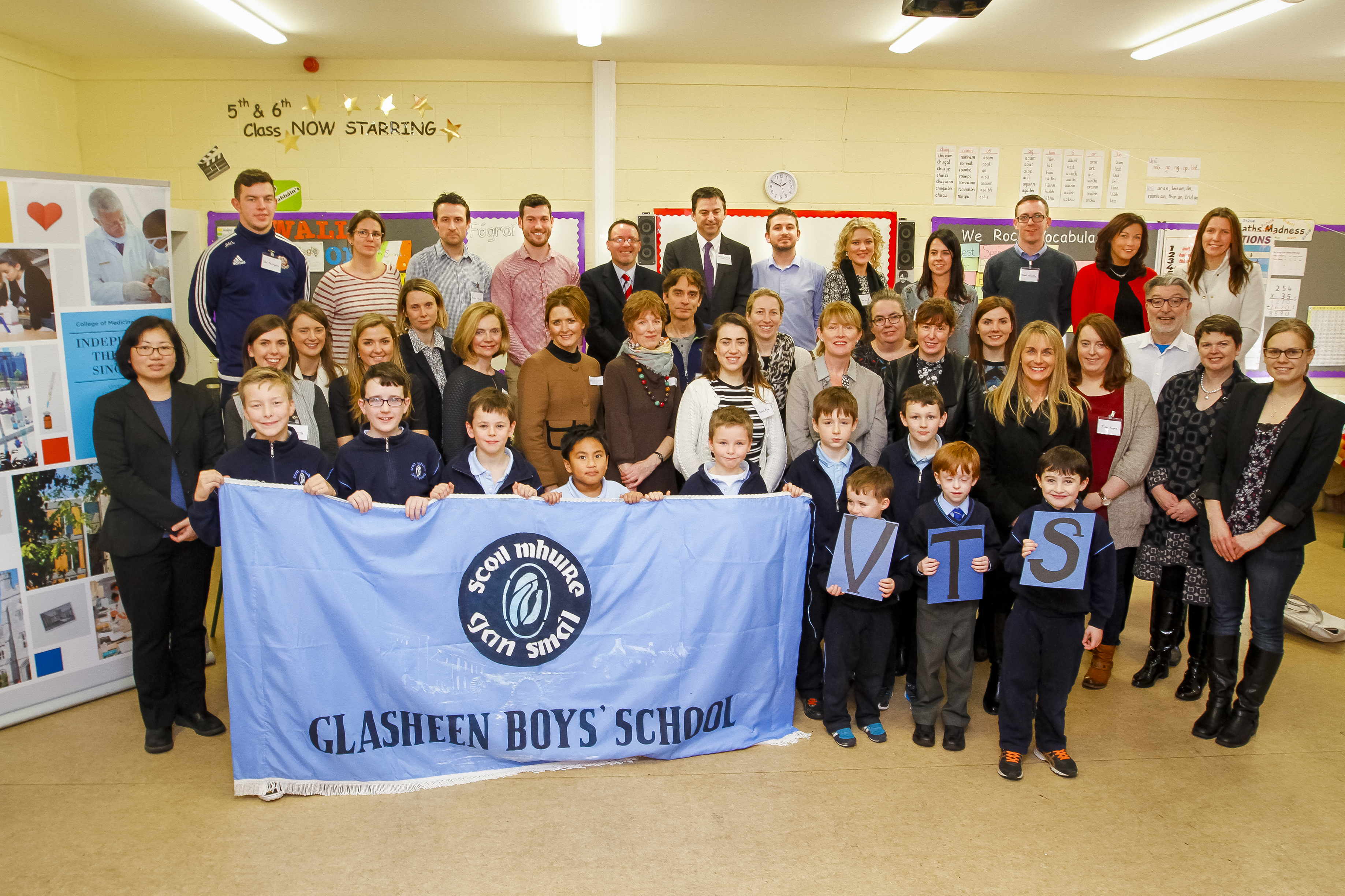 UCC & Glasheen Boys' School Open Their Eyes to Visual Thinking Strategies