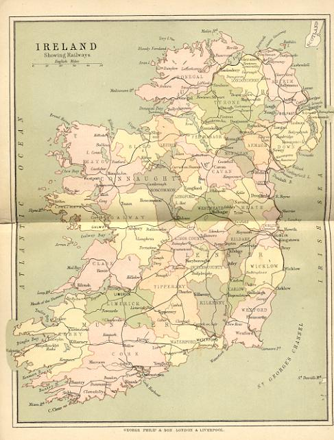 Map Of Cork County Ireland.Maps Of Ireland University College Cork