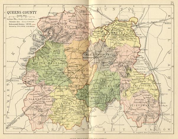 Queen's County (today's Laois) | University College Cork on