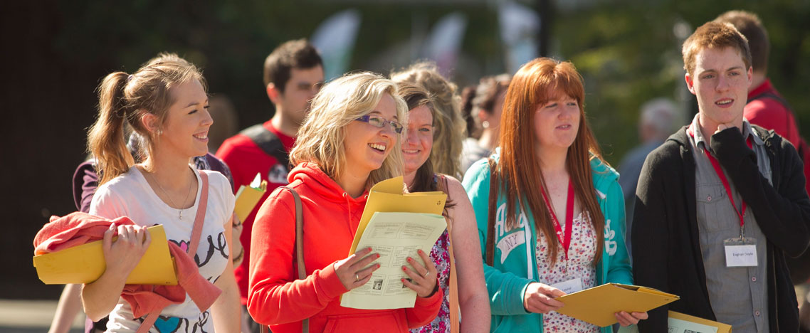 UCC Open Day - Saturday the 8th of October