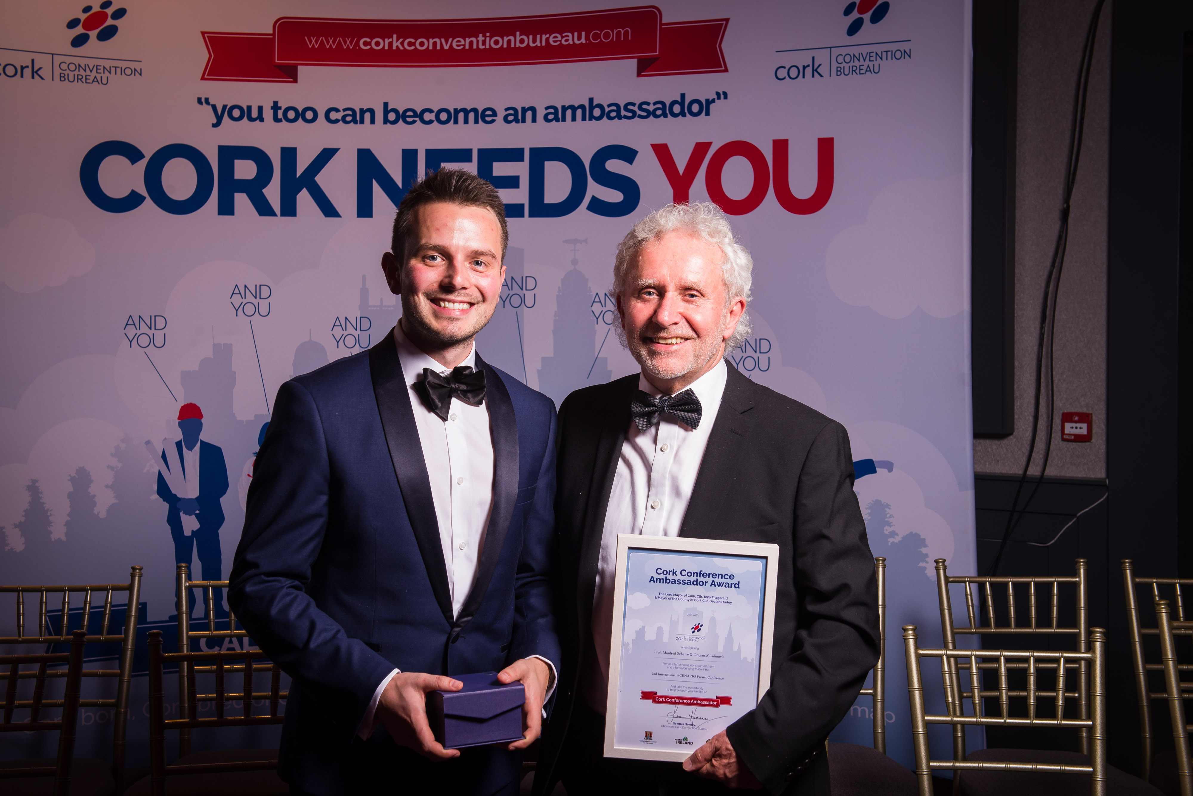 SCENARIO wins at Cork Ambassador Awards 2017