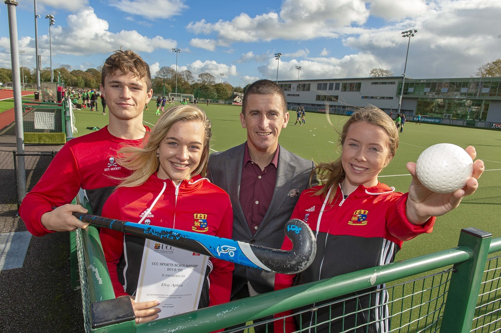 UCC's rising sports stars presented with scholarships