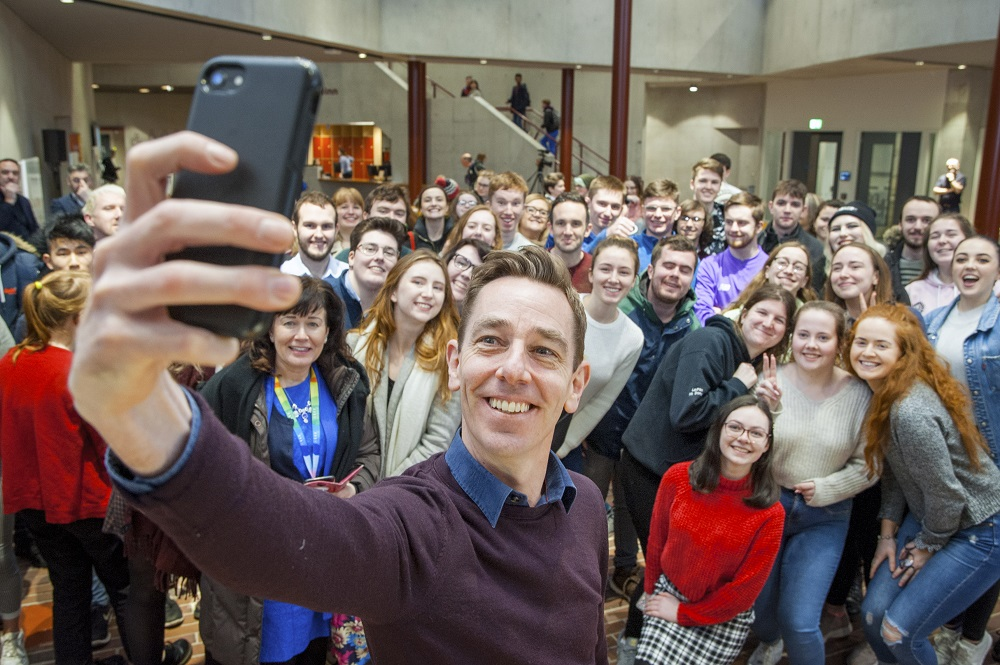 Interview: Ryan Tubridy chats politics, history and his love of the arts on UCC visit