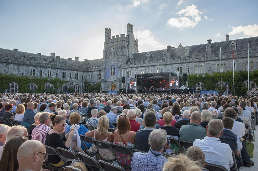 A Summer's Evening on the Quad hits the right note for Cork charities