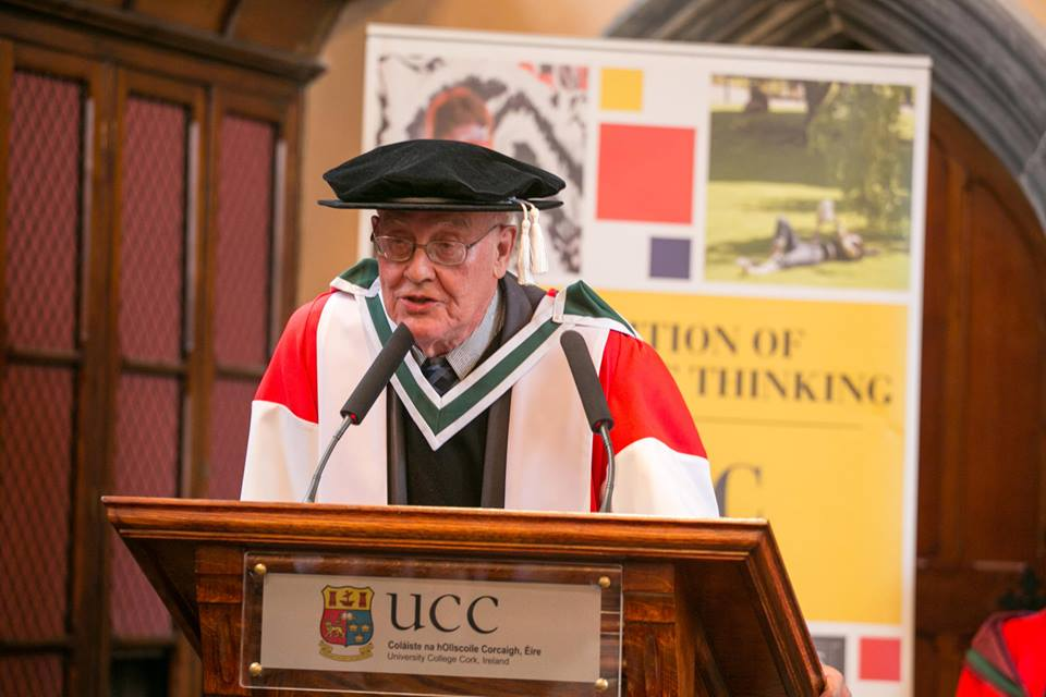Dr. Benedict Anderson, Degree of Doctor of Literature