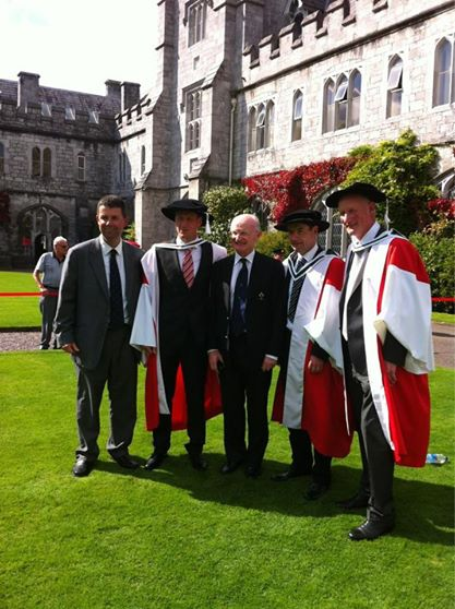 Dr Brian Cody, Degree of Doctor of Arts