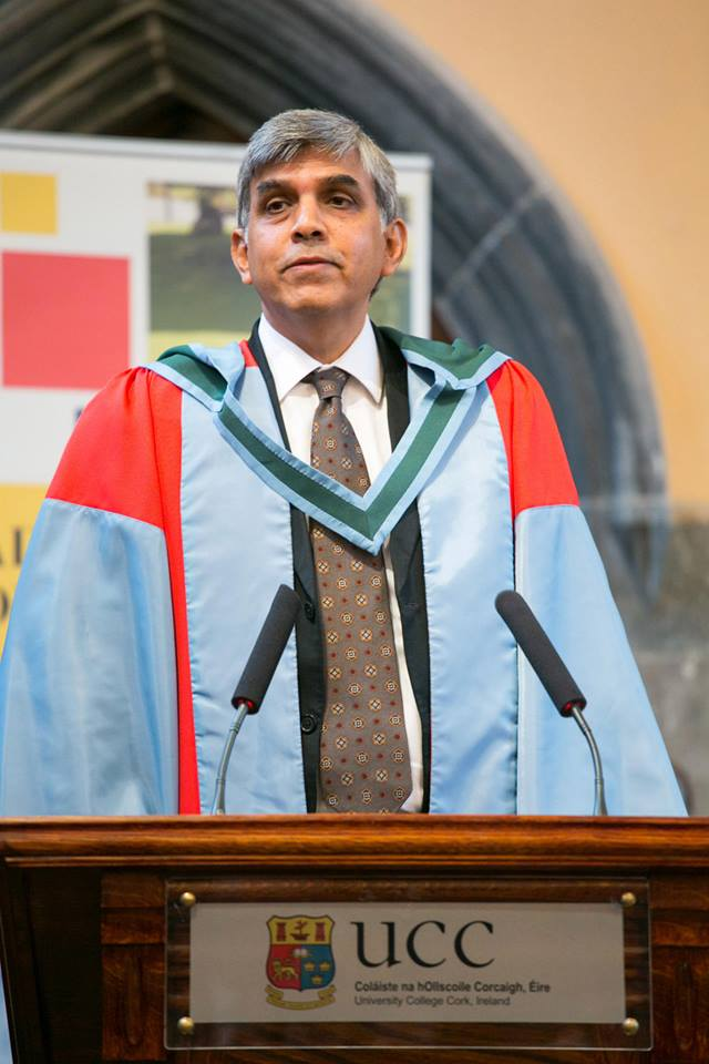 Dr. Dinesh Singh, Degree of Doctor of Science