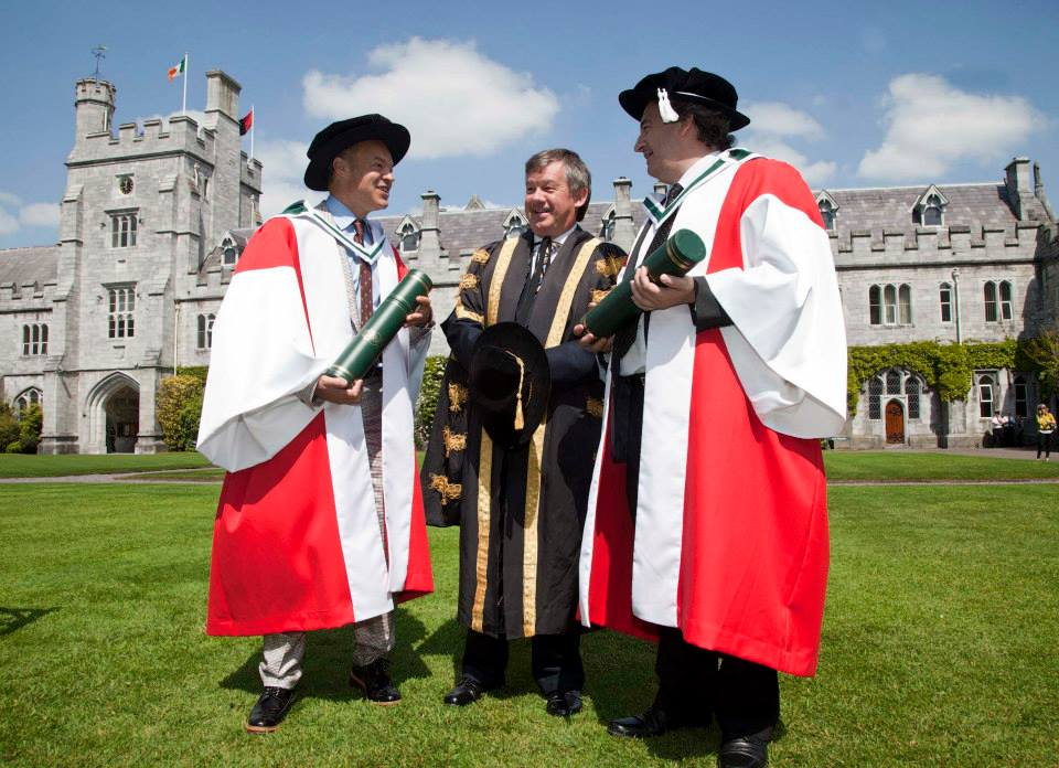 Dr. Fergal Keane, Degree of Doctor of Literature