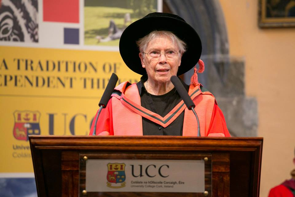 Dr. Pauline Oliveros, Degree of Doctor of Music