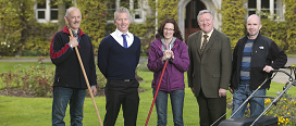 Special Recognition Award for UCC Grounds' staff