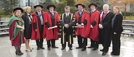 First DBA (Business Economics) graduation at UCC