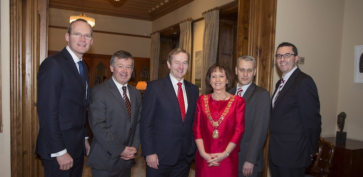 An Taoiseach delivers Philip Monahan Lecture