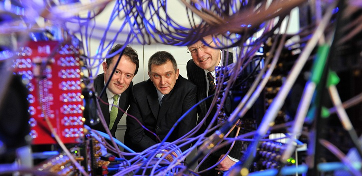 Minister Sherlock launches photonics centre