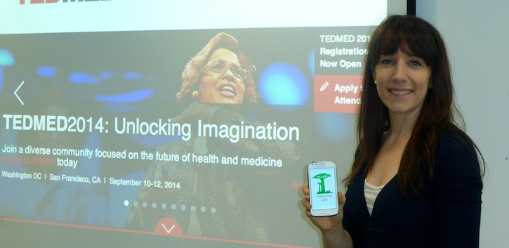 App earns UCC researcher TEDMED place