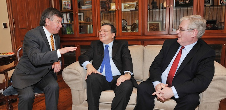 Honorary doctorate for President Barroso