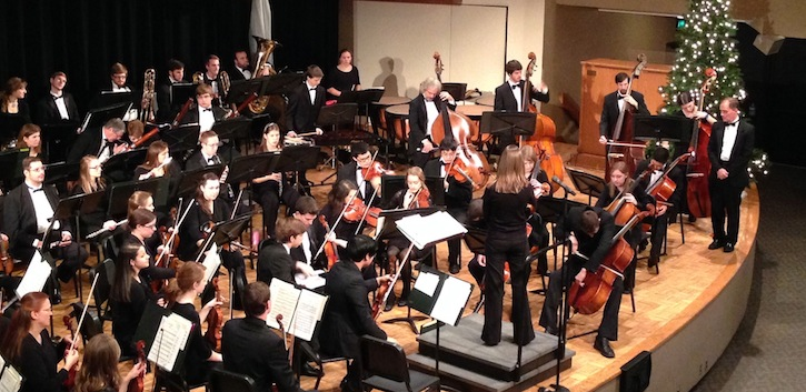 String break! Orchestra to visit UCC