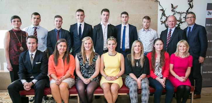 UCC honours its sporting heroes