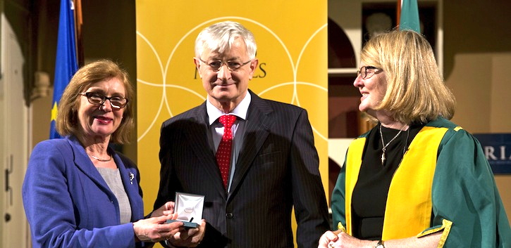 RIA Gold Medal for Professor Clarke
