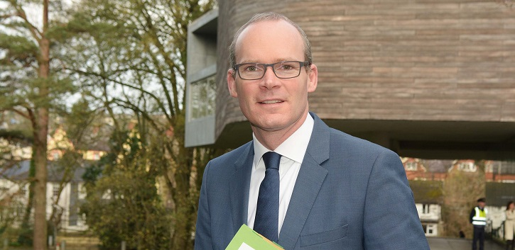 Minister Coveney addresses students on Ireland 2040 plan