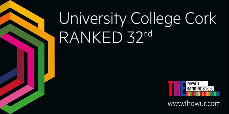 UCC ranked among the best universities in the world for sustainable development