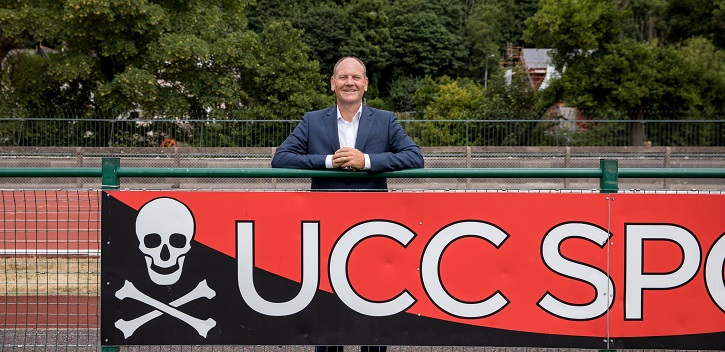UCC appoints new Director of Sport and Physical Activity
