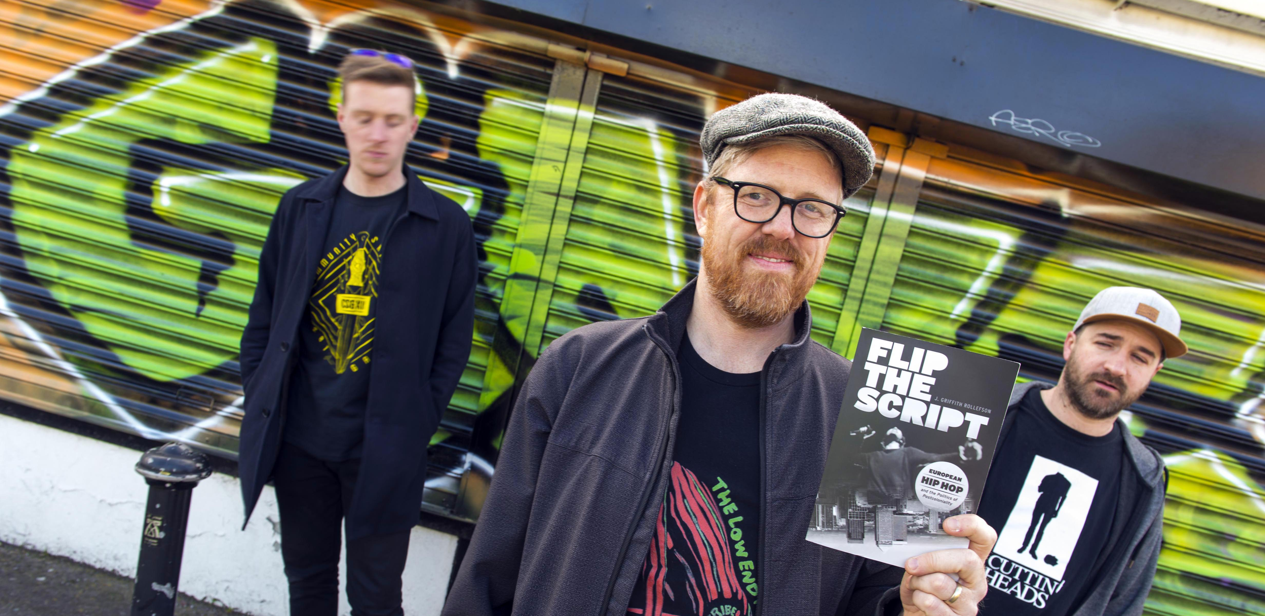 Flipping the Script: UCC lecturer to launch first book on European hip hop