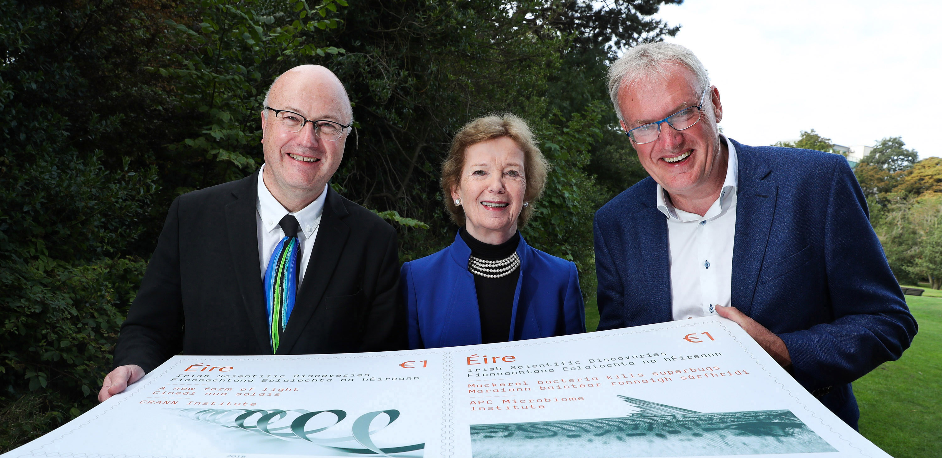 UCC research centres put their stamp on An Post series