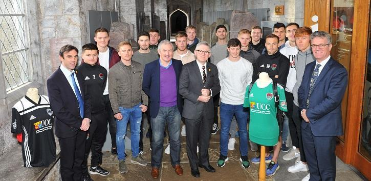 UCC and Cork City FC extend partnership to 2022