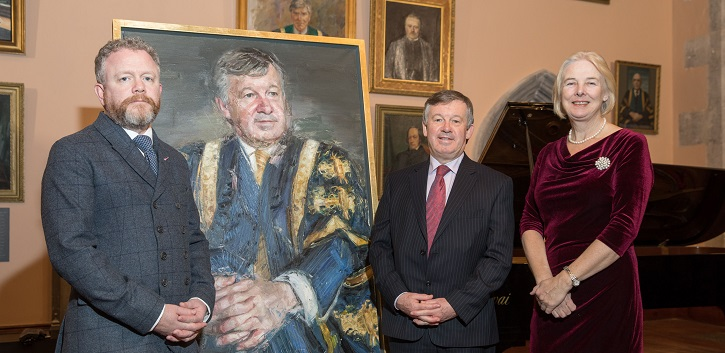 Portrait of UCC President Dr Michael Murphy unveiled