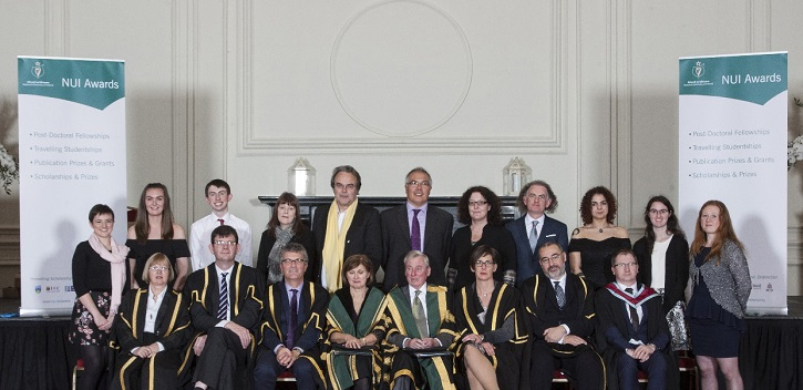 UCC students and alum honoured by NUI