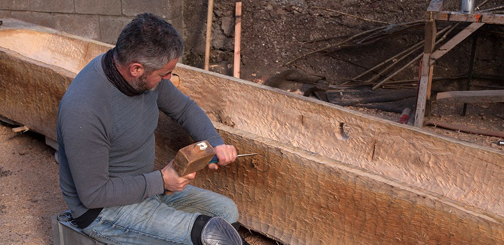 Replica Iron Age log boat to be launched on Lough Corrib