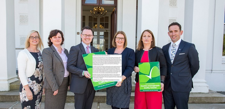 University campus accommodation achieves Fáilte Ireland's Welcome Standard