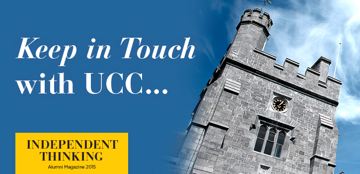 Independent Thinking 2015, UCC Alumni Magazine