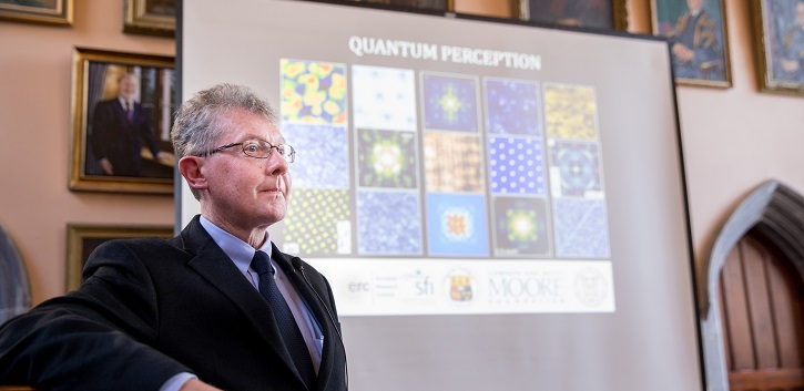 Machine Learning used for scientific discovery in Quantum Matter