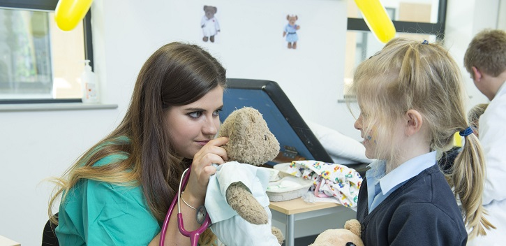 Teddy bear hospital reopens in UCC