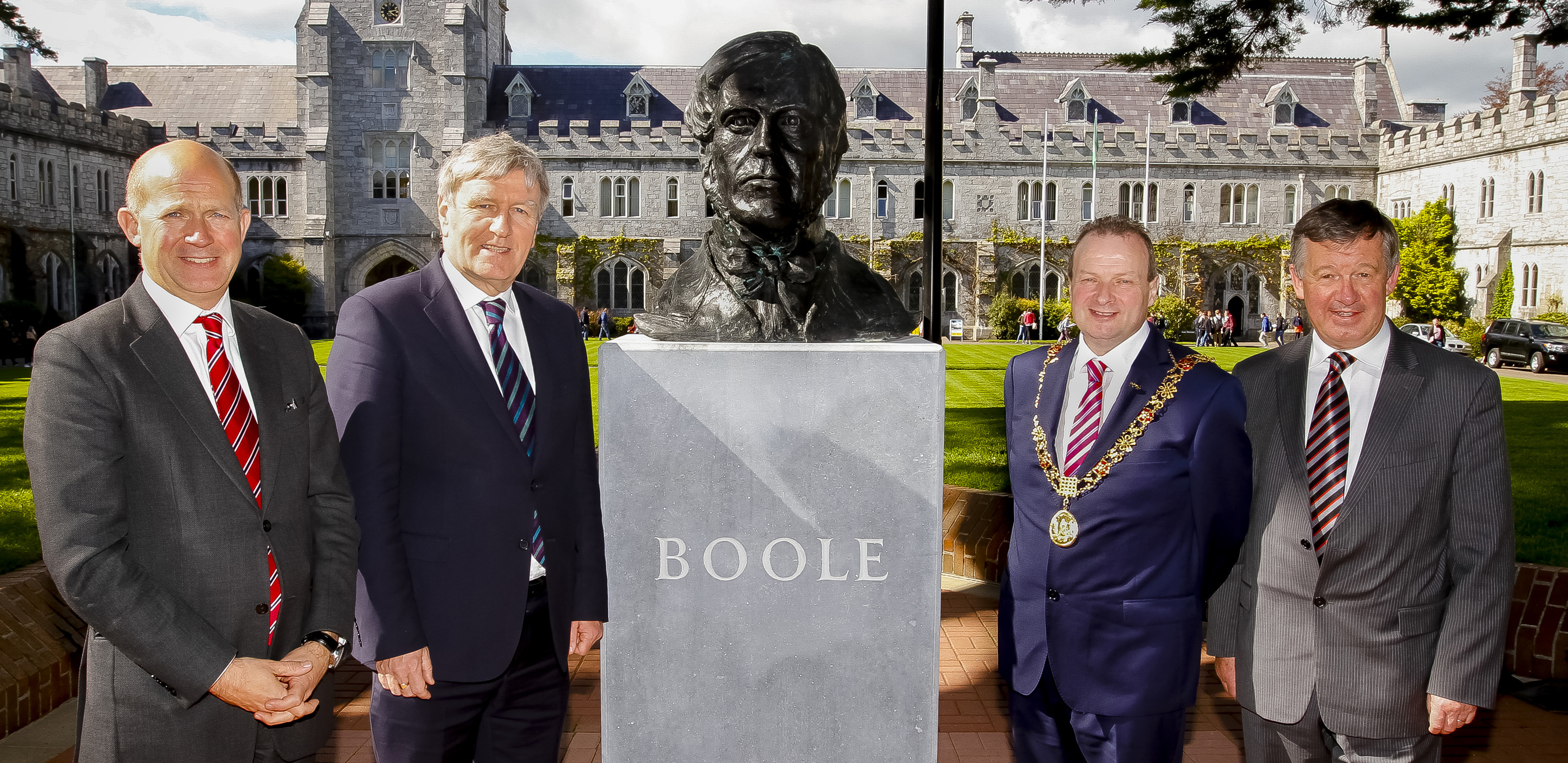 UCC unveils George Boole bust