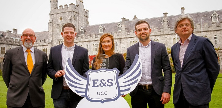 Who will be UCC's entrepreneur of the year?