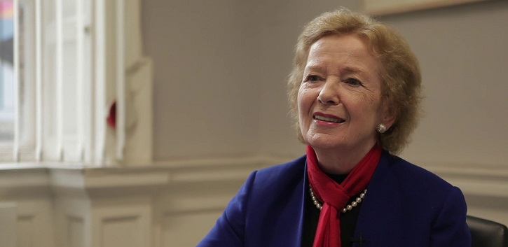 Mary Robinson the first guest on UCC's new podcast
