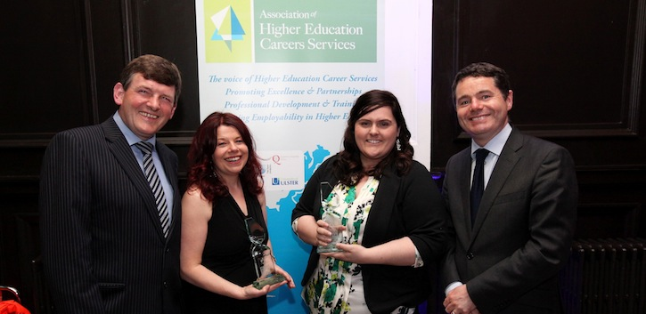 Careers Service honoured with Engagement Award