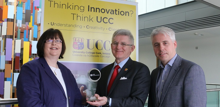 UCC spinout InfiniLED in the limelight with KTI award