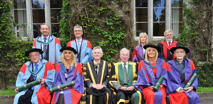 UCC honours four distinguished Irish people