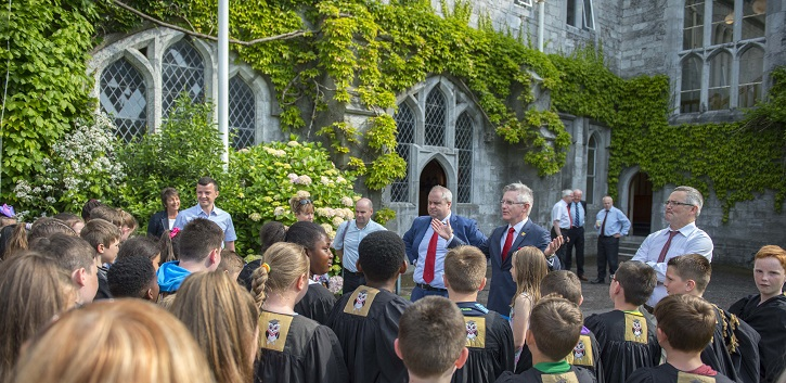 UCC's Junior Conferring Tour celebrates 70,000 scholars