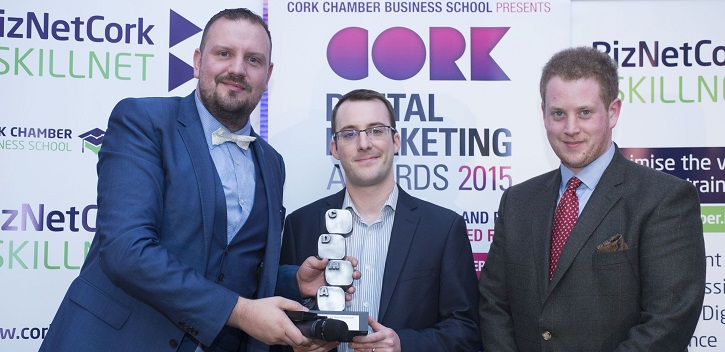 Cork Digital Marketing Award for UCC