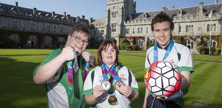 Olympians honoured at UCC
