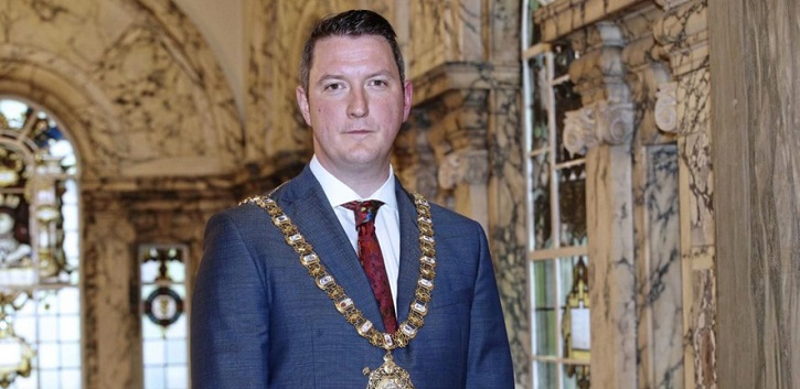 Lord Mayor of Belfast to give public lecture in Cork