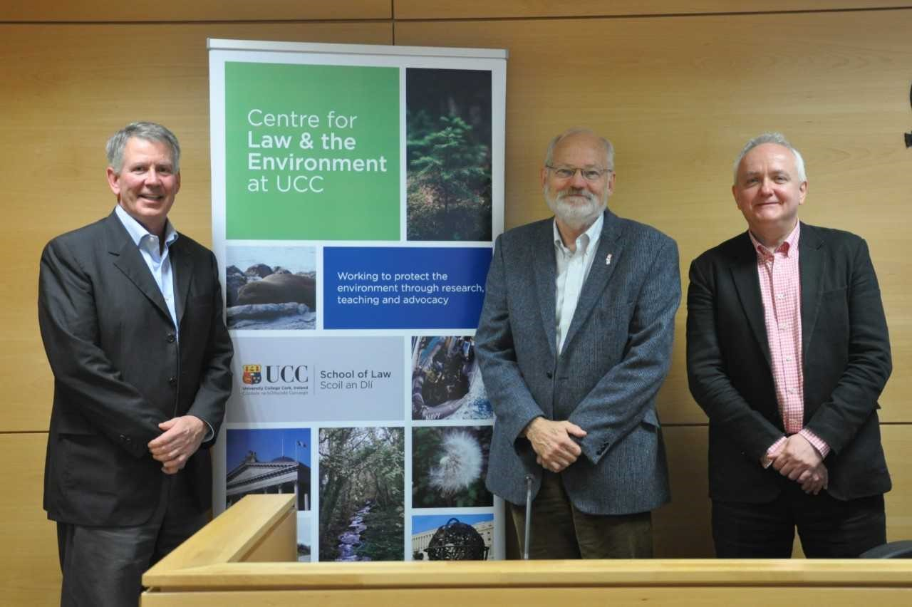 CLE Hosts Visiting Lecturer and Fulbright Scholar, Doug Ruley on 'Law in the Age of Climate Change'