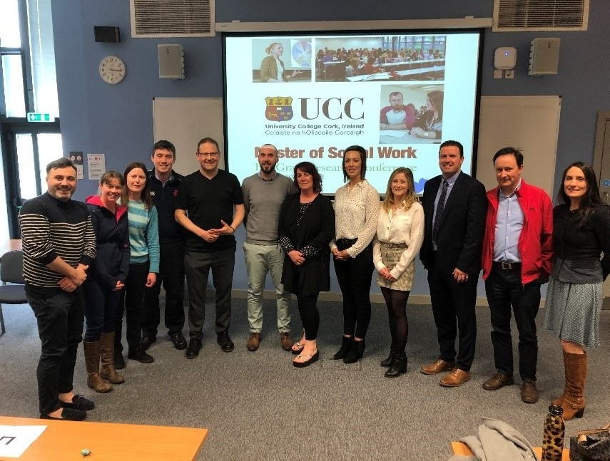 CARL Students present at the UCC Masters in Social Work Postgraduate Research Conference
